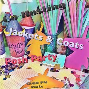 Other - Co-hosting Jacket & Coat Posh Party!!